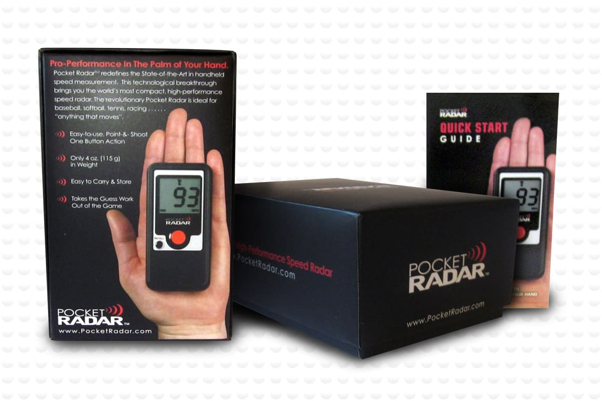Pocket Radar product package design